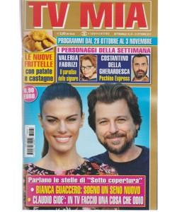 Tv Mia - settimanale pocket n.43-31 Ottobre2017- Frittelle con Patate e castagne