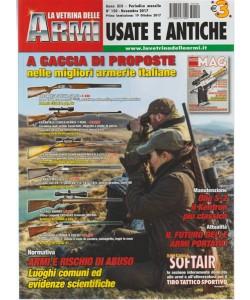 """La Vetrina delle Armi """"Usate e Antiche"""" - mensile n. 150 Novembre 2017"""