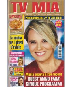Tv Mia -settimanale pocket n.29-25 Luglio 2017 Maria De Filippi farà 5 Programmi