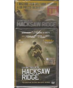 """DVD - La Battaglia di Hacksaw Ridge """"per diventare un'eroe non serve un'arma"""""""
