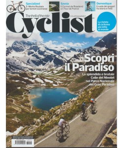Cyclist - mensile n. 18 Novembre 2017 - The thrill of the ride
