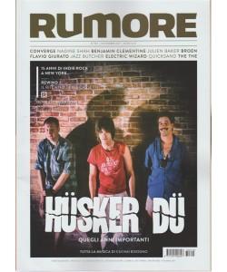 Rumore - mensile n. 310 Ottobre 2017 - Husker Du: quegli anni importanti