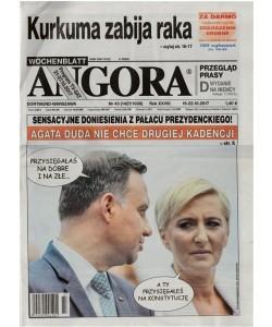 Angora - settimanale in lingua polacca n. 43 (1427) - 16 Ottobre 2017