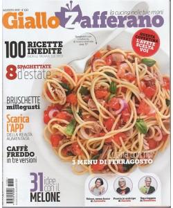 Giallo Zafferano - mensile n. 5 Agosto 2017 - Caffè freddo in tre versioni