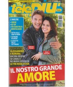 Telepiù - settimanale pocket n. 45 - 31 ottobre 2017  Alessandro e Aurora