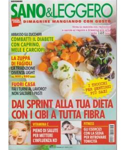 Sano & Leggero - mensile n. 11 Novembre 2017 - Dimagrire mangiando con gusto