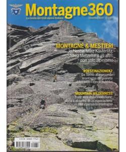 Montagne 360 - rivista mensile n. 62 del Club Alpino Italiano Novembre 2017