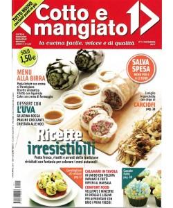 Cotto e Mangiato - mensile n. 11 Novembre 2017 -Calamari in tavola...