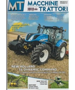 MT Macchine Trattori - mensile n.177 Novembre 2017 -Agritechnica 2017