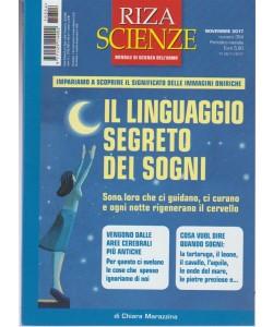 Riza Scienze - mensile n. 354 Novembre - il Linguaggio Segreto dei Sogni
