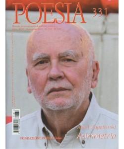 Poesia - Mensile n.331 . Novembre 2017 - Adam Zagajewski