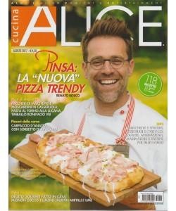 Alice Cucina - mensile n. 8 Agosto 2017 PINSA: la nuova pizza trendy