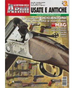 La Vetrina delle Armi Usate e Antiche - mensile n. 147 Agosto 2017