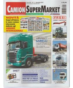 Camion Super Market - mensile n.11 Novembre 2017 sul retro OK Trucks