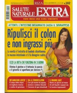 RIZA Salute Naturale Extra - mensile n. 102 - Novembre 2017 - Ripulisci il COLON