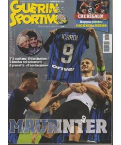 Guerin Sportivo - mensile n. 12 Dicembre 2017 - Doppio Poster Higuain & Dzeko