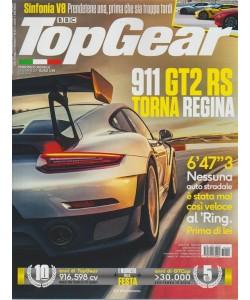 Top Gear - mensile n.121 Dicembre 2017 - 911 GT2 RS torna regina