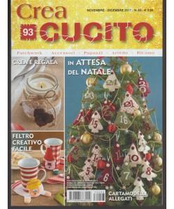 Crea Cucito - mensile pocket n.93 Novembre 2017