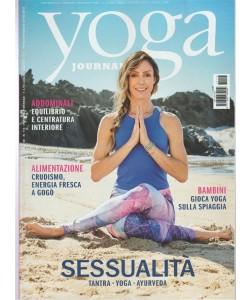 Yoga Journal - mensile n. 115 Luglio 2017 - Bambini gioca yoga sulla spiaggia