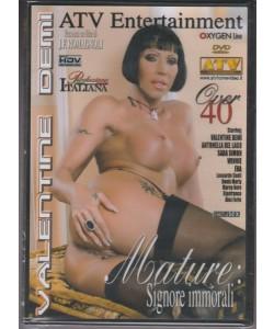 DVD XXX - Mature: Signore immorali - film di J.F. Romagnoli - Over 40