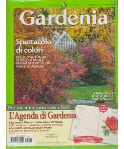 Gardenia - mensile n. 403 - Novembre 2017 + Agenda Gardenia 2018