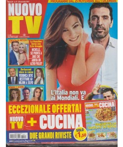 Nuovo Tv - settimanale n. 47 - 28 Novembre 2017 + CUCINA n. 24/2017 Spaghetti