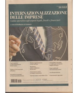 Internazionalizzazione delle Imprese a cura di Belluzzo & Partners-Novembre 2017