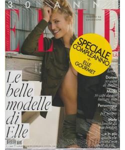 Elle Italia (30 anni) - mensile n. 12 Dicembre 2017 + Elle Gourmet
