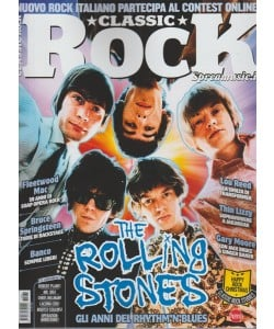 Classic Rock - mensile n. 61 Dicembre 2017 - The Rolling Stones