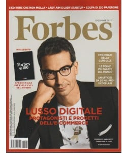 Forbes-mensile n.2 Dicembre2017+Forbes @100 i personaggi più influenti del mondo
