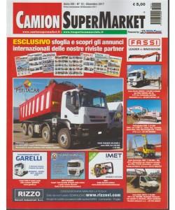 Camion Super Market - mensile n.12 Dicembre 2017 sul retro OK Trucks
