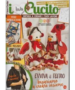 I Love Cucito - bimestrale n. 20 Dicembre 2017 Evviva il feltro