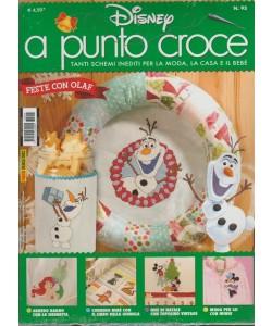Disney Punto Croce - trimestrale n. 95 Dicembre 2017 - Panini Comics