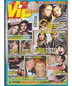 Vip Party - mensile n. 12 Dicembre 2017 Quanti guai in casa Rodriguez