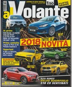 Al Volante - mensile n. 1 Gennaio 2018 - Tutte le novità 2018