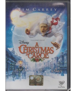 DVD - a Chistmas Carol: Disney - Regista: Robert Zemeckis
