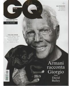 GQ Italia(Gentlmen's Quartly)-mensile n.215 Dicembre2017-Armani racconta Giorgio