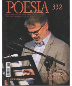 Poesia - mensile internazionale di cultura poetica n. 332 Dicembre 2017
