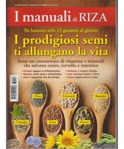 I Manuali di RIZA - bimestrale n. 6 Gennaio 2017 I Prodigiosi Semi...