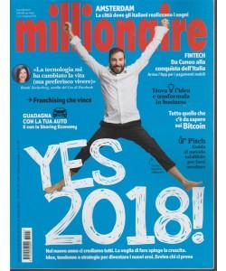 Millionaire - mensile n. 1 Gennaio 2018 - Yes 2018!