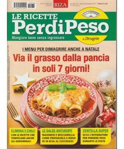 RIZA Le Ricette Perdipeso - mensile n. 75 Dicembre 2017
