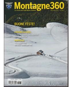 Montagne 360 - mensile n. 63 . Dicembre2017 - Buone Feste!