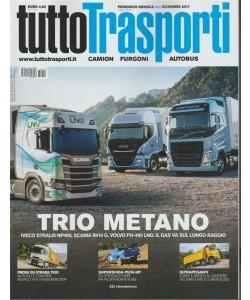 Tuttotrasporti - mensile n. 411 Dicembre 2017 - Trio metano