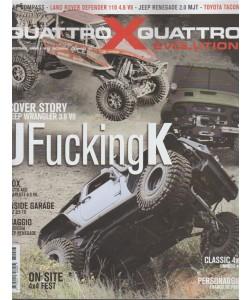 Quattroxquattro X Evolution - Bimestrale n. 17 Dicembre 2017 -Franco De Paoli