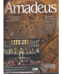 Amadeus - mensile n.337 Dicembre 2017 + CD Monteverdi 450+CD quintetto Bottesini
