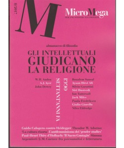 Micromega - Bimestrale n.8/2017 Dicembre - Almanacco di filosofia