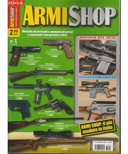 Armi Shop - mensile n. 1 Gennaio 2018 il più venduto in Italia