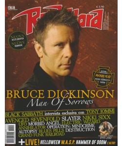 Rockhard Italia - bimestrale n.44 Dicembre 2017 -Bruce Dickinsons Man of Sorrows