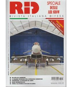 RID Rivista Italiana Difesa - mensile n. 1 Gennaio 2018 -Speciale Dubai Air Show