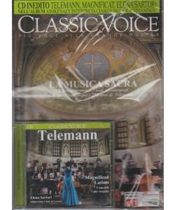 Classic Voice - mensile n. 223 Dicembre 2017 + CD inedito Telemann
